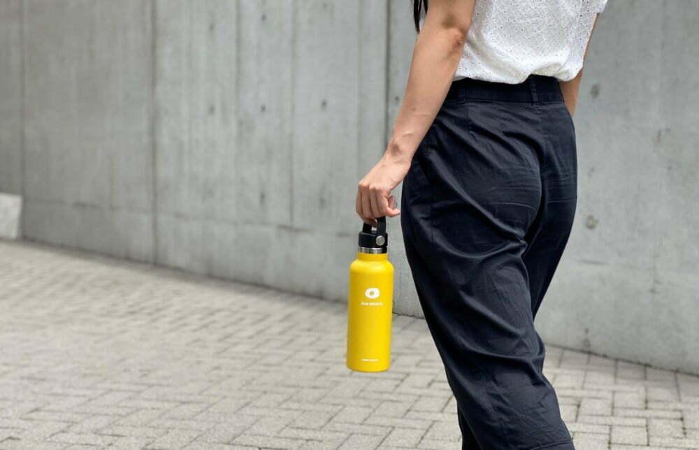 """7月はプラスチックを使わない一か月⁉企業内でも進む""""ステンレスボトル""""の活用とは?"""