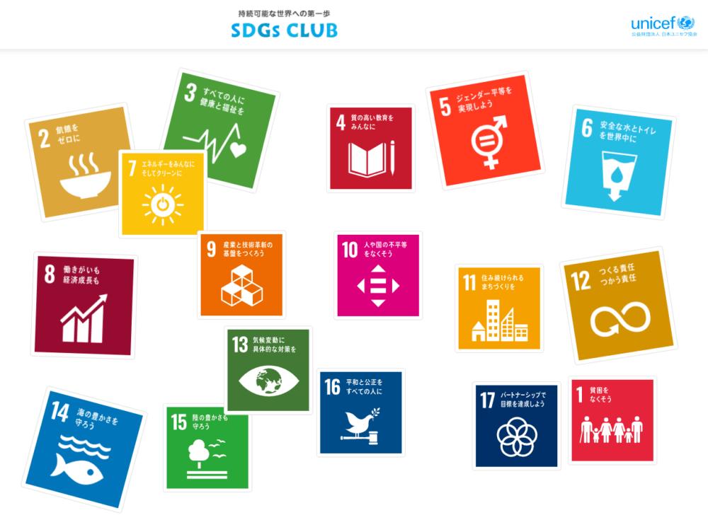 SDGsってなんだ?ユニセフが親子で学べるSDGsサイト「SDGs CLUB」を公開