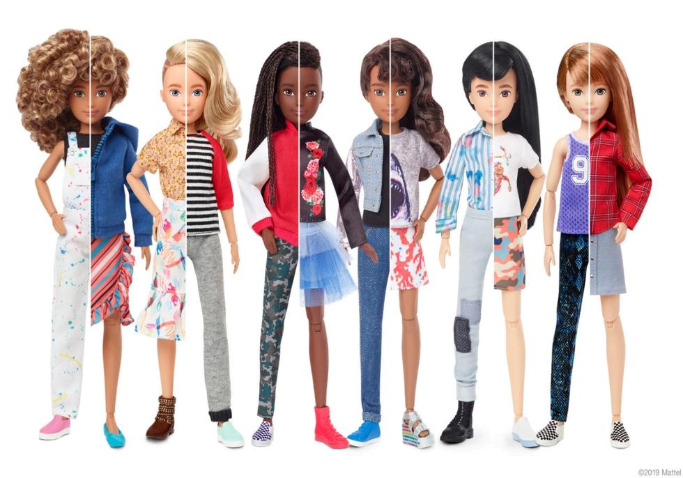 ジェンダーGAPは5歳から始まる?バイアスを育てないおもちゃとしてバービー人形が一新!