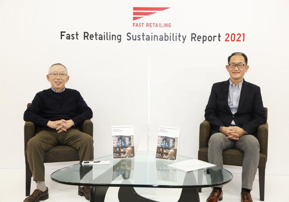 ファーストリテイリングが「サステナビリティレポート2021」を公開。「服のチカラ」で見据える未来とは