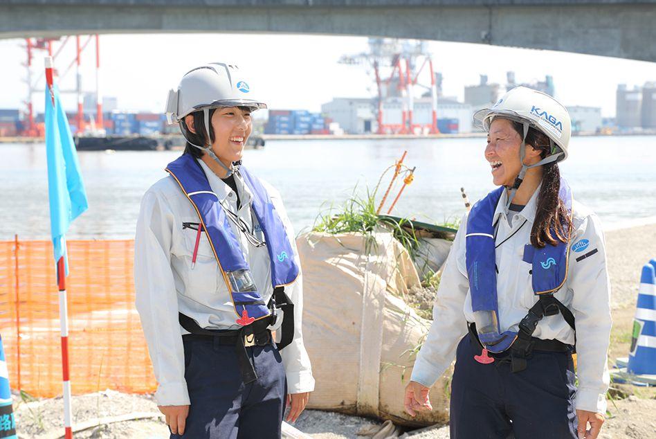 加賀建設が取り組む女性活躍推進とは?