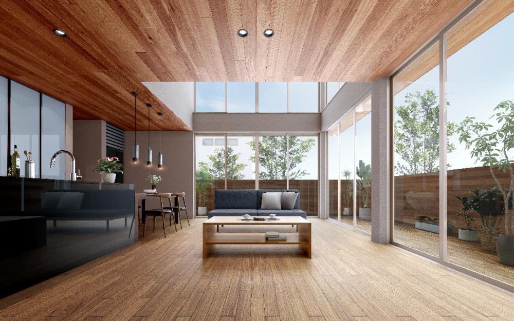 炭素排出量は鉄筋の半分以下? 脱炭素社会へ向けたアキュラホーム新木造「超空間の家」