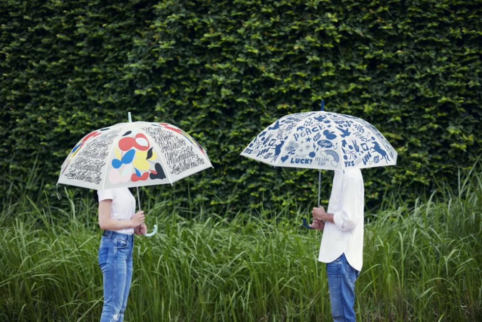 無駄な消費を減らしSDGsに貢献。「SHOGO SEKINE」 デザインのオリジナルビニール傘が登場!